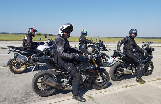 Teaserbild der Einsatzmeldung: Fahrsicherheitstraining für Motorräder