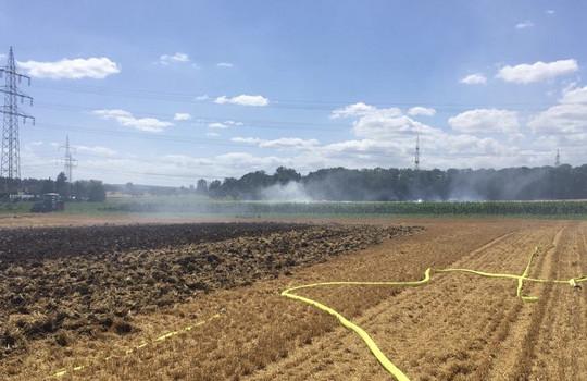 Teaserbild der Einsatzmeldung: B2 - Feuer/Rauch Feld