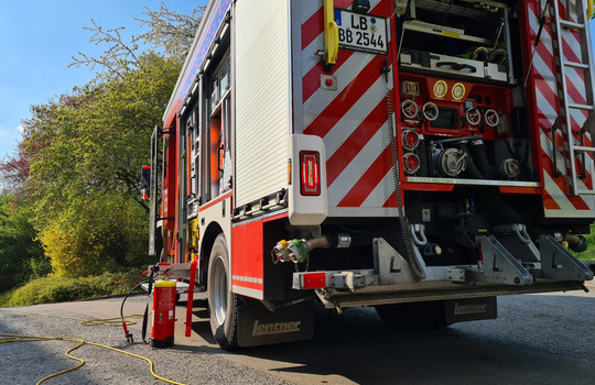 Teaserbild der Einsatzmeldung: B3 - Feuer/Rauch Fabrik