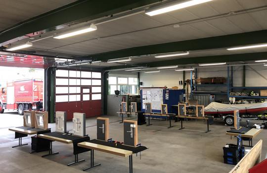 Teaserbild der Einsatzmeldung: Türöffnungslehrgang in Bissingen