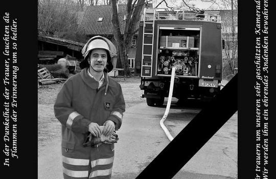 Teaserbild der Einsatzmeldung: Die Feuerwehr trauert um Bernd Gläser